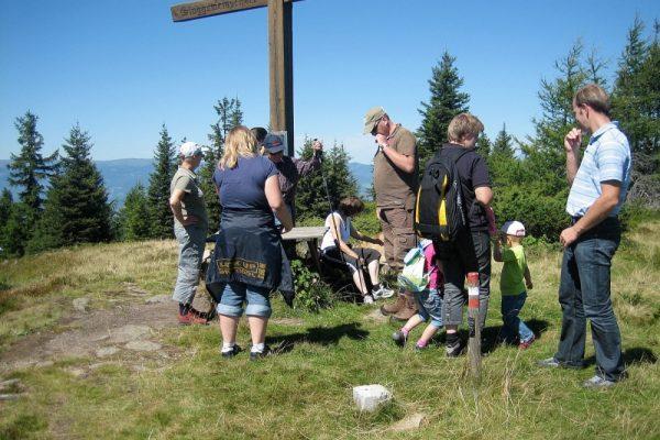 Gipfelkreuz-Bärofen-Familienausflug